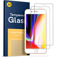2x Vetro Temperato PREMIUM per Apple iPhone 8 - Pellicola schermo durezza 9H