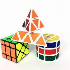 30xZauberwürfel +Zylinder Speedcube+Pyraminx Speedcube+Puzzle Würfel