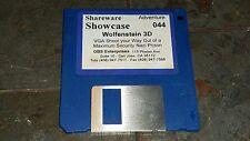 """Vintage WOLFENSTEIN 3D 1992 Adventure Shareware PC Video Game Software 3.5"""" Disc"""