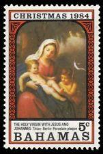 "BAHAMAS 569 (SG695) - Christmas ""Madonna and Child"" by Titian (pf28673)"