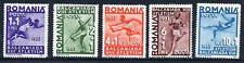 ROMANIA 1937 Balkan Athletics set  MNH / **