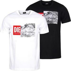 DIESEL T-Just-XH Herren T-Shirt Tee Shirt Kurzarm