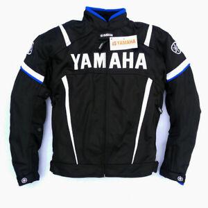 MOTORCYCLE YAMAHA JACKET TEXTILE CORDURA CHAQUETA GIACCA