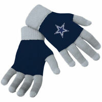 Dallas Cowboys Stretch Knit Gloves with Texting Tips NFL