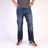 Levi's 505 Regular Straight Mittel blau Herren Jeans 34/30