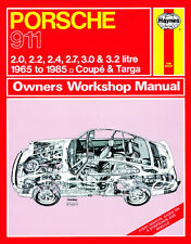 0264 Haynes Porsche 911 (1965 - 1985) hasta C Manual de taller