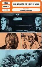 FICHE CINEMA : UN HOMME ET UNE FEMME - Aimée,Trintignant 1966 A Man And A Woman