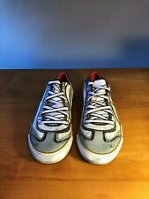 Puma Vintage Cartoon Canvas Sneaker White Red and Black Size 37