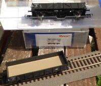 Roco 76110 2-teiliges Set Offene Güterwagen der Niederländischen Staatsbahn NS