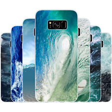 Dessana Waves Silicone Protective Case Case Pouch Cover For Samsung Galaxy
