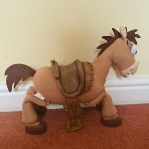 """Thinkway Toy Story Bullseye Vibrating Talking Sounds Disney Pixar Horse 16"""""""