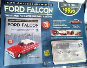 FORD FALCON , 1/8 UNOPENED , SALVAT , EAGLEMOSS , AMALGAM AT A FRACTION OF PRICE
