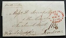 NSW Pre stamp ship letter Sydney August 15th 1840 to London arrived 5 January 41