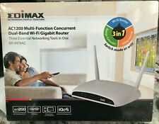 Edimax Dual-Band AC1200 Router/Extender/AP, 3-in-1 Smart Device BR-6478AC