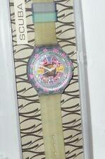 Swatch Uhr Scuba 200 Swatchuhr Uhren SDS 100 Ice Party watches box clock Eis NEW