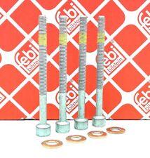 4x Zylinderschraube + 4 Dichtringe für Einspritzdüse Injektor MERCEDES SMART CDI