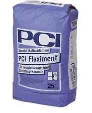 PCI Fleximent 25 kg Haftschlämme für Feinsteinzeug-Fliesen und Steinzeug-Fliesen