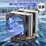 6 Pipes LED CPU Cooler Fan Heatsink for Intel 775/1150/1151/1155/1156/1366