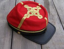 civil war confederate reenactor officers artillery kepi  4 row braids Large