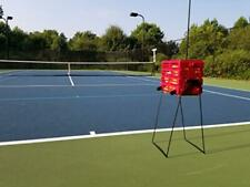 New Tourna Ballport Deluxe Tennis Ball Hopper with Wheels - Holds 80 Balls, Red