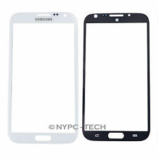 White Front Outer Glass Screen Lens for Samsung Galaxy Note.2 SCH-I605 SCH-N719