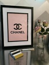 COCO CHANEL PRINT IN PINK A4 SIZE FOR HOME GIFT
