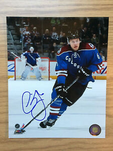 Erik Johnson Colorado Avalanche Signed 8x10 Official Photo w/ TOPLOADER