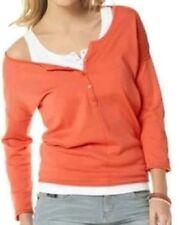 3/4 Arm Damen-Pullover & -Strickware mit Knöpfen S