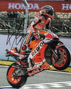 Marc MARQUEZ 2019 SIGNED 10x8 Autograph Photo 3 AFTAL COA MOTOGP World Champion