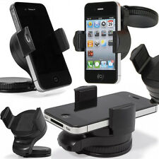 Support voiture auto GPS rotatif réglable 360° Samsung I9500 Galaxy S4