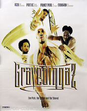 Gravediggaz 1997 The Pick The Sickle & The Shovel Double Sided Promo Poster