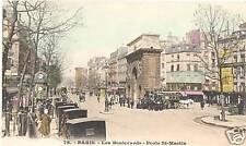 CPA Paris Les Boulevards, Porte St. Martin (95575)