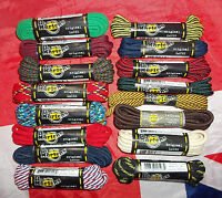 BN Official Dr Martens Laces*Blue Black Red White Green*1460 1490 Boots Shoes