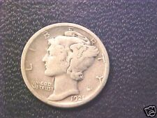 1921 D Mercury Dime..VF Grade..nice for this date