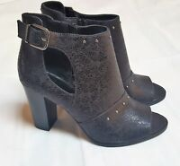 Women's Simply Vera Vera Wang Bologna Ankle Boots Shoes Black