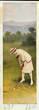 R. Atkinson Fox, Lady Golfer, Salesman Sample Print 1920s