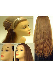 """18"""" Lace Front Full Cap Wigs - French Refine Human Hair Pieces"""