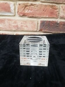 Replacement Glass Lamp Shade Square Cube  G9 Lamp  light fittings    NEW