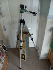 SLIK 88 Camera/Video Tripod with 360° pan/tilt head. Boxed. Barely used.