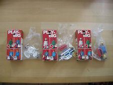 3 Bauarbeiter , Art. Nr. 101 , 104 , 105 , neu und OVP von Playbig new MIB