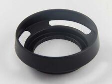 Parasol negro metal 37mm para PANASONIC Lumix G X Vario PZ 14-42mm F3.5-5.6 ASPH