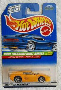 1999 Hot Wheels Super Treasure Hunt Limited Edition Ferrari F512M VERY RARE