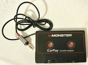 Monster iCarPlay Cassette Adapter - iPod, iPhone, Android Old Style Jack