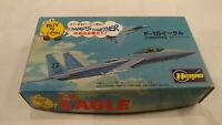 Vintage Hasegawa 1:176 F-15 Eagle Fighter Aircraft Airplane US Model Kit