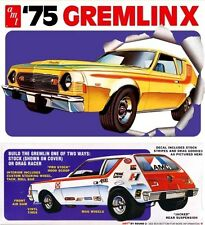 Amt 768   1975 AMC Gremlin (2 'n 1) Stock or Drag plastic model kit  1/25