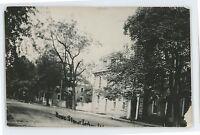 RPPC King Street NORTHUMBERLAND PA County Pennsylvania Real Photo Postcard