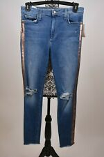 JOE'S Women's Jeans The Charlie High Rise Skinny Ankle With Rose Gold Size 31