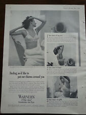 1c00221e8e734 1949 Womens Warner s Bra Foundations Choice Cup Size Band Uplift Ad