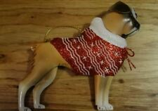 Tin Bulldog Puppy Christmas Tree Ornaments by Pier One Park Avenue Puppies
