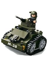 Sluban  Armoured Vehicle & Figure Army Construction brick set Childs B0587C